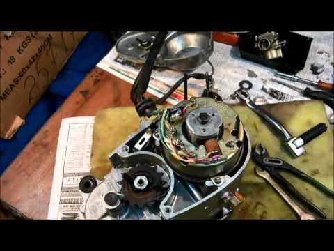 Разборка идеального мотора В 50, заводской сборки, поиск проблем