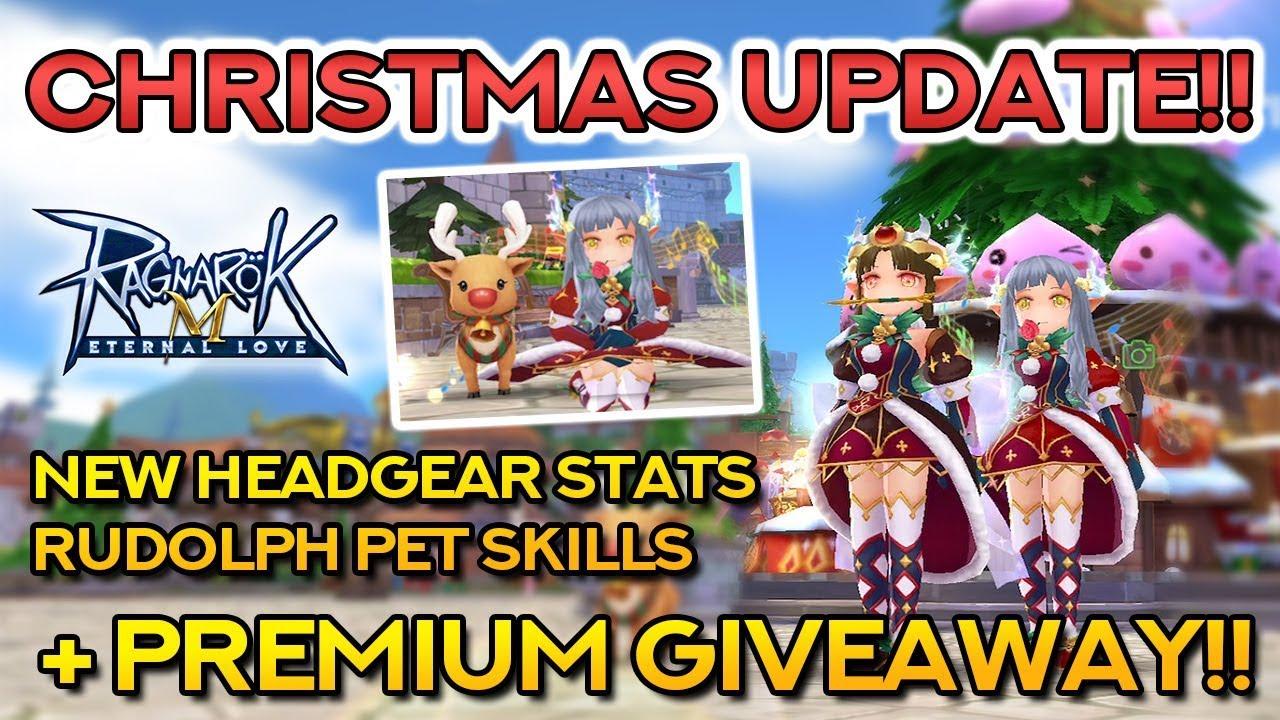 Ragnarok Christmas New Events Costumes Pet Giveaway Closed Ragnarok Mobile Eternal Love