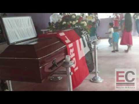 Con bandera del eln y caravana de motos sepultaron a alias grillo en Fortul