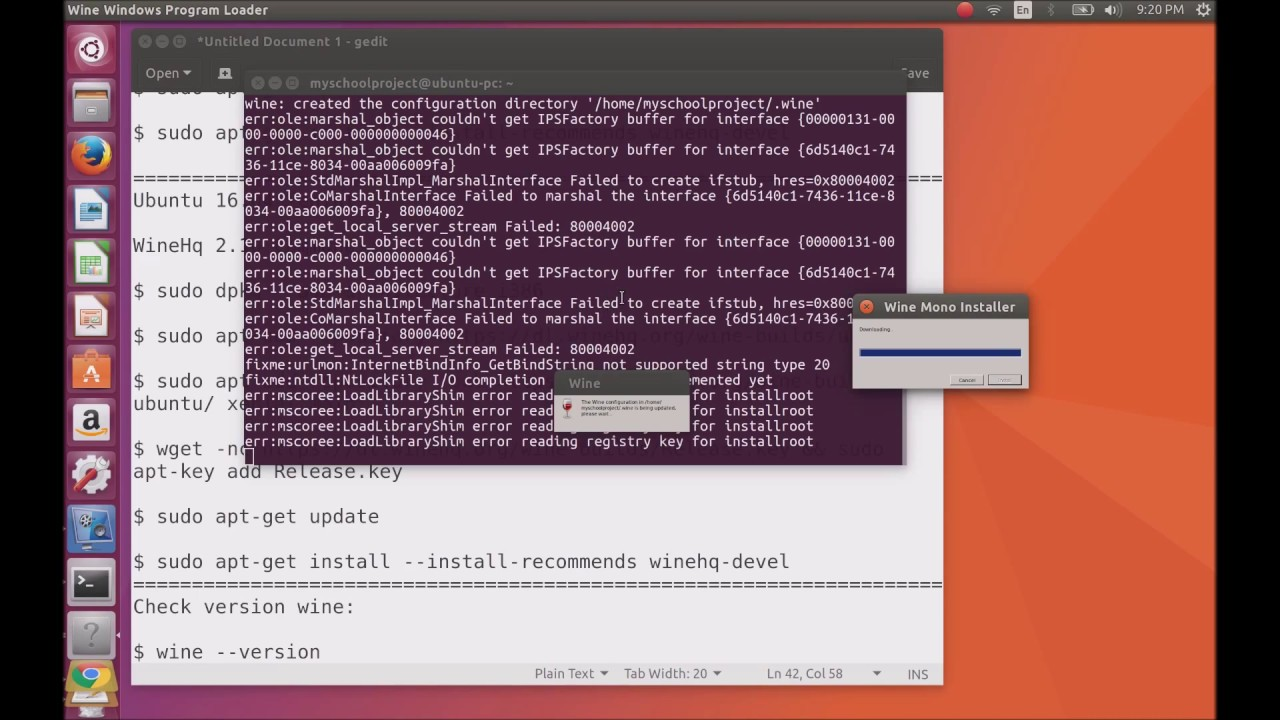 How To install Wine 2 10 on Ubuntu 17 04 Zesty Zapus