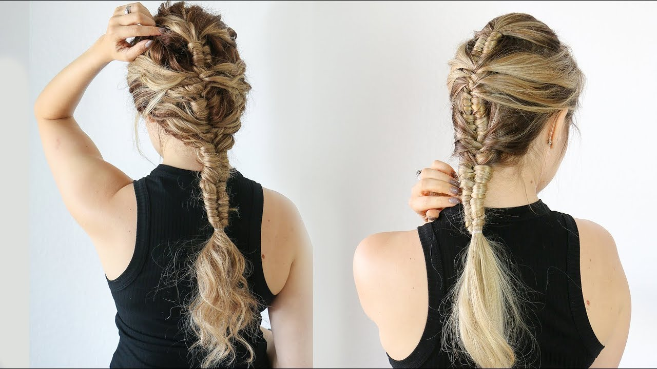 Hair Styles For Braids Pictures: How To: Mermaid Infinity Braid (on Straight And Curly Hair