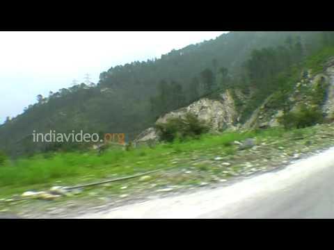 Road to Joshimath, Uttarakhand