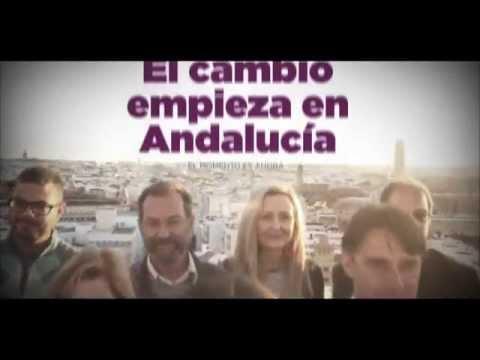 Spot Oficial de Podemos para las Elecciones al Parlamento de Andalucía 2015