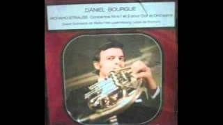 Gambar cover D. Bourgue plays 1st R. Strauss Horn Concerto 2nd tempo Andante