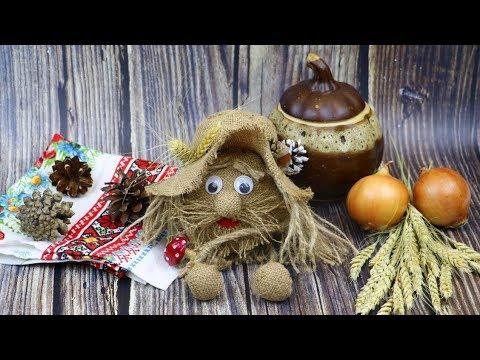 Игрушка оберег ДОМОВЁНОК из мешковины своими руками / How to make Textil Doll