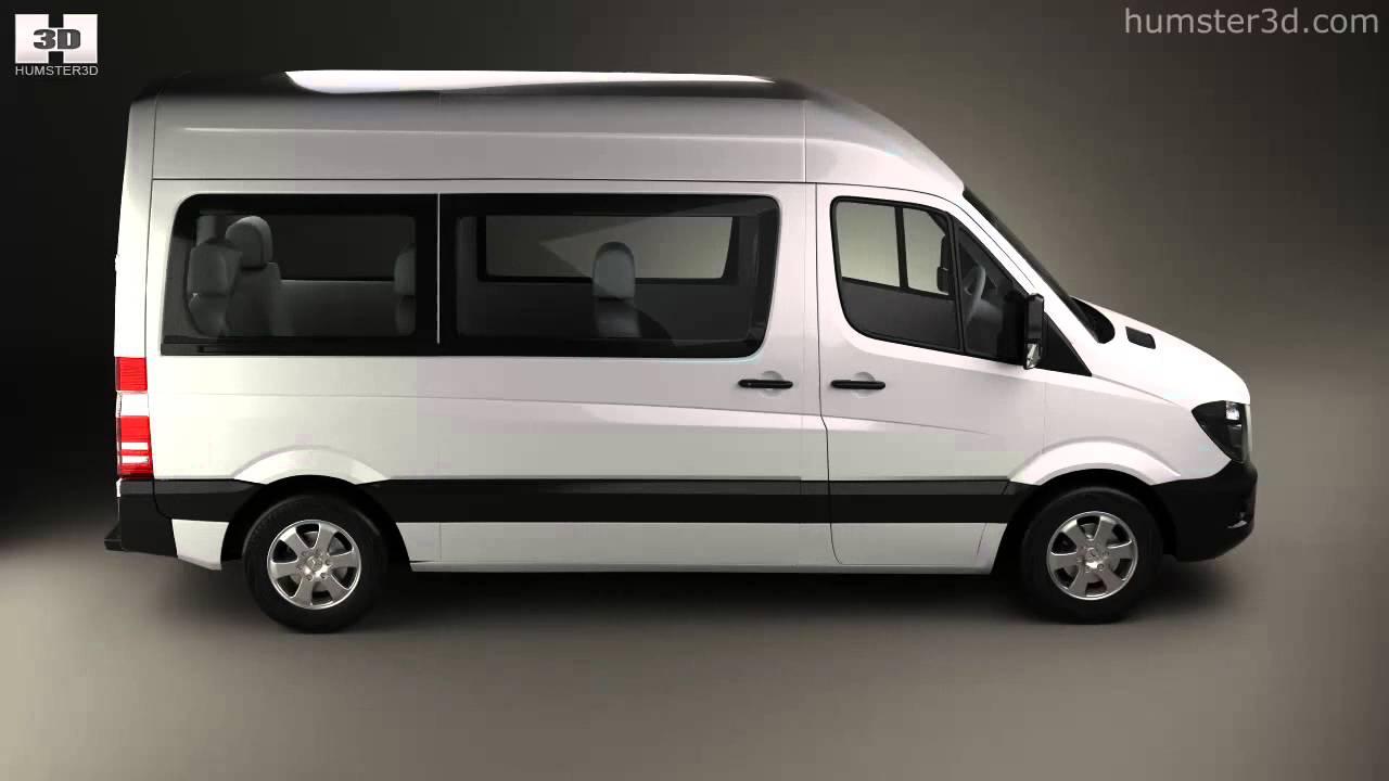 Mercedes-Benz Sprinter Passenger Van 2013 by 3D model store Humster3D com