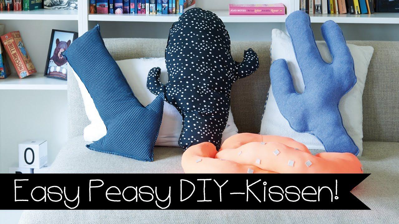 DIY | KISSEN SELBER NÄHEN | KAKTUS KISSEN | PFEIL KISSEN