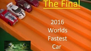 2016 Worlds Fastest Car The Final (Hot Wheels)