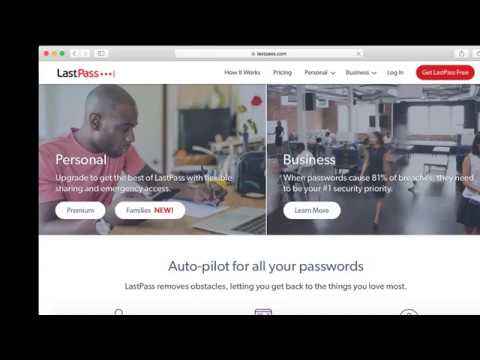LastPass Free Trial: Start A Free 30-Day Trial Now