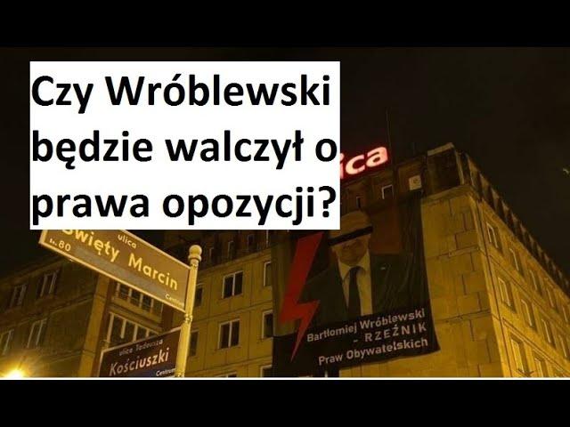 Wróblewski poprze opozycję?