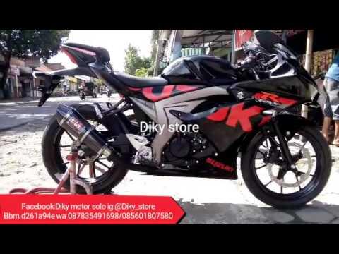 Gsx R Pakai Knalpot Yoshimura Custom Diky Store