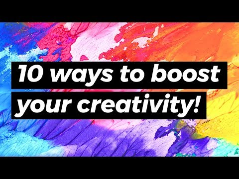 10 Easy Ways To Boost Creativity & Overcome Artist's Block! | Sea Lemon