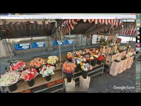 Exploring Dublin via Google Earth