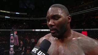 After losing to Daniel Cormier at UFC 210, Anthony Johnson surprised the crowd and announced his retirement.