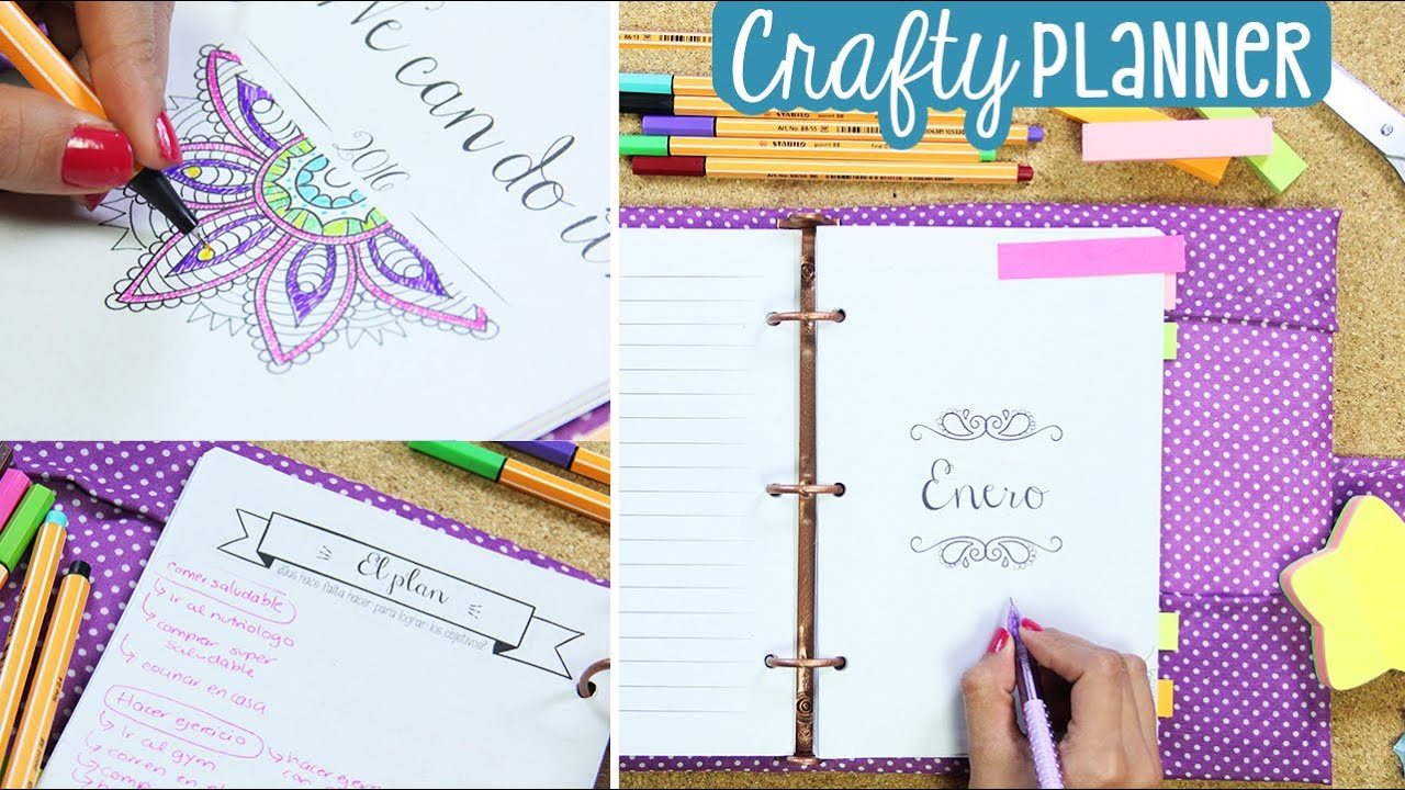 Crafty Crafty Planner Make Everything Happen Be More Creative Youtube