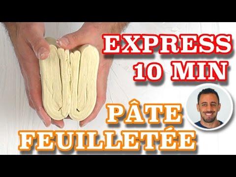 ✌ PATE FEUILLETÉE RAPIDE en 10 MIN ★ Recette facile / rapide / express ✌