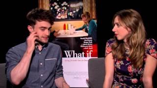 Daniel Radcliffe and Zoe Kazan on Their New Film 'What If'