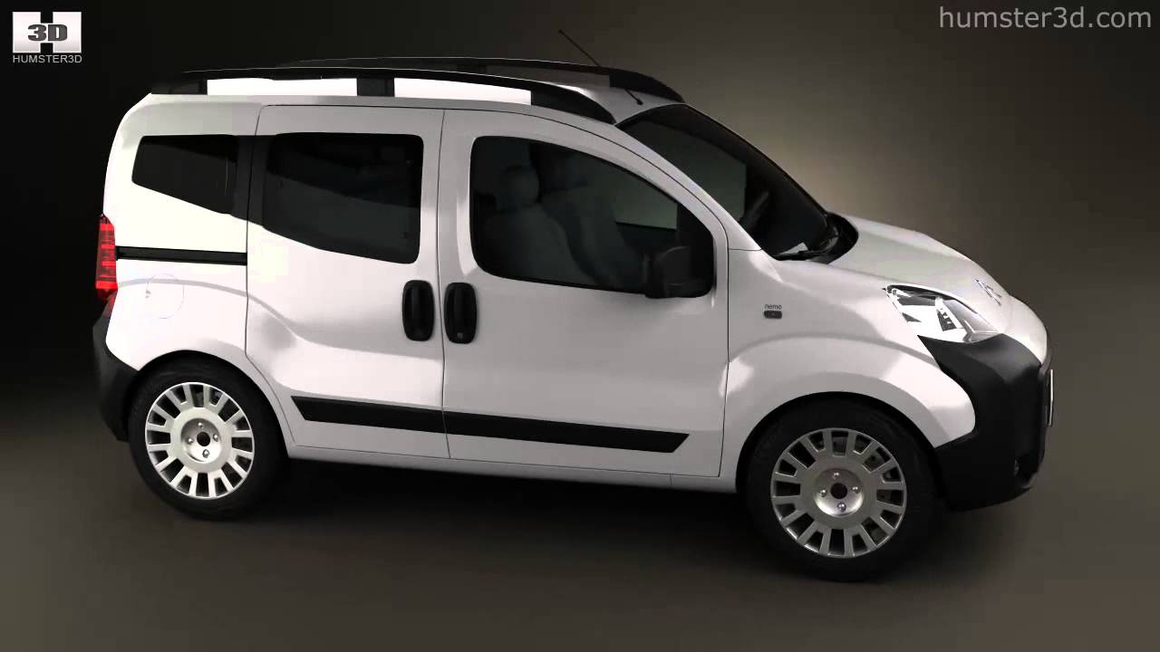 citroen nemo multispace 2011 by 3d model store youtube. Black Bedroom Furniture Sets. Home Design Ideas