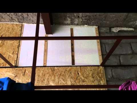 видео: Утепление гаража Выпуск #1