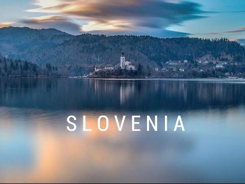 sLOVEnia - Winter roadtrip to Lake Bled, Bohinj in HD