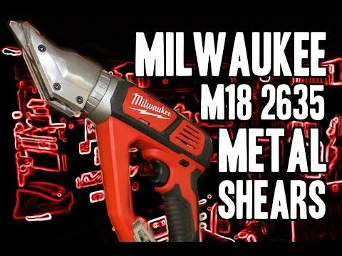 Milwaukee 2635 M18 Metal Cutting Shears (18 Gauge)