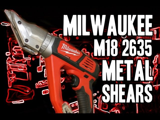 Milwaukee 2635 M18 Metal Cutting Shears (18 Gauge)