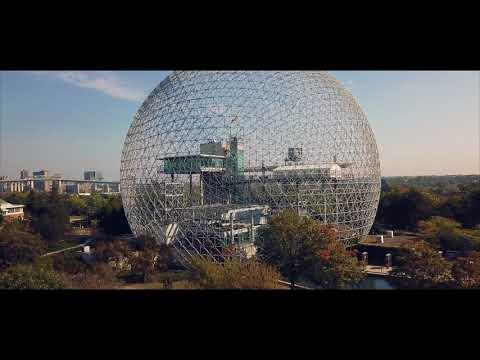 DJI mavic pro / Montréal vue du ciel (été automne 2017)
