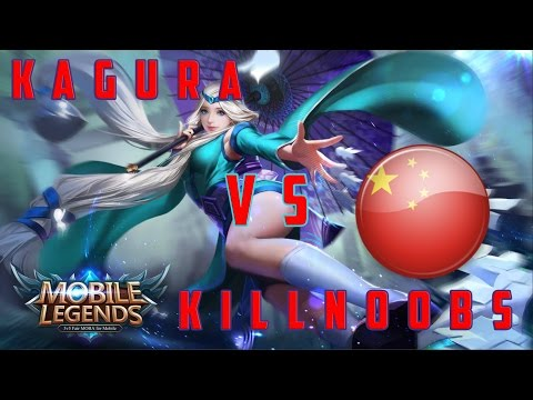 Mobile Legends: Kagura vs KillNoobs / Penta kill
