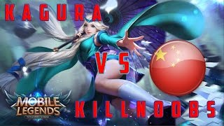 Mobile Legends: Kagura vs KillNoobs / Penta kill