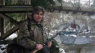 Grayling Fishing in Winter, Caer Beris Manor