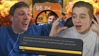 FIFA 15 - SEARCH & DISCARD vs WROETOSHAW