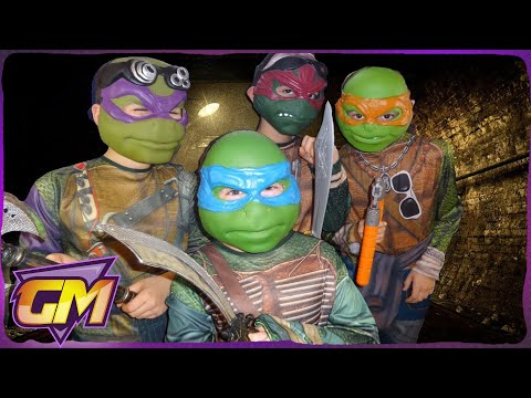 Teenage Mutant Ninja Turtles Parody: Kids short film version