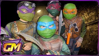 One of Gorgeous Movies's most viewed videos: Teenage Mutant Ninja Turtles Parody: Kids short film version