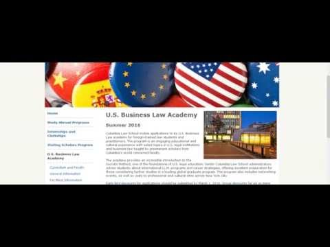 U S  Business Law Academy