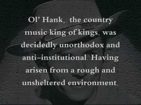 Hank Williams Sr Tribute: Lost Highway