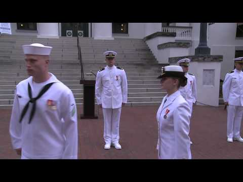 NROTC Midshipmen Commissioned by Chief of Naval Operations