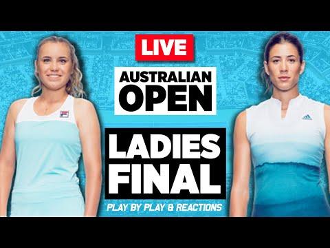 🔴 KENIN Vs MUGURUZA   Australian Open 2020 (F)   LIVE Tennis Stream Play-by-Play