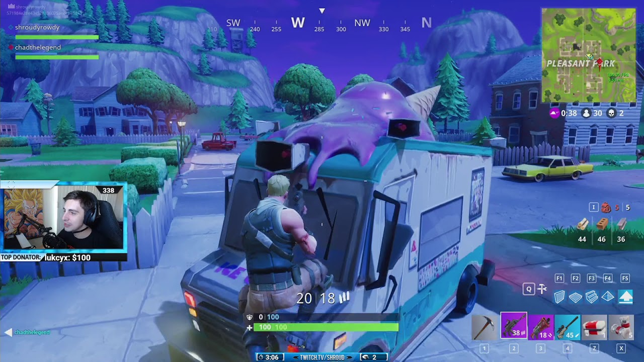 how to see time played in fortnite