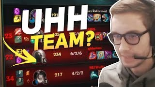 WHAT IS THIS GAME? - Bjergsen