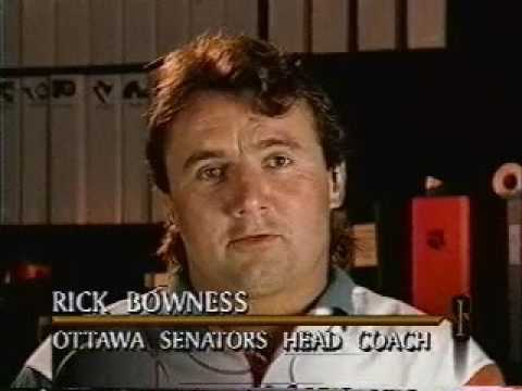 NHL: Rick Bowness On Ottawa Senators Scandal (1993)
