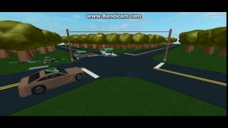 (ROBLOX) Two Cars Collide at Intersectio