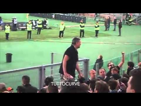 Roma - Spezia 0-0 (2-4) ultras spezzini a Roma 16/12/2015 Coppa Italia