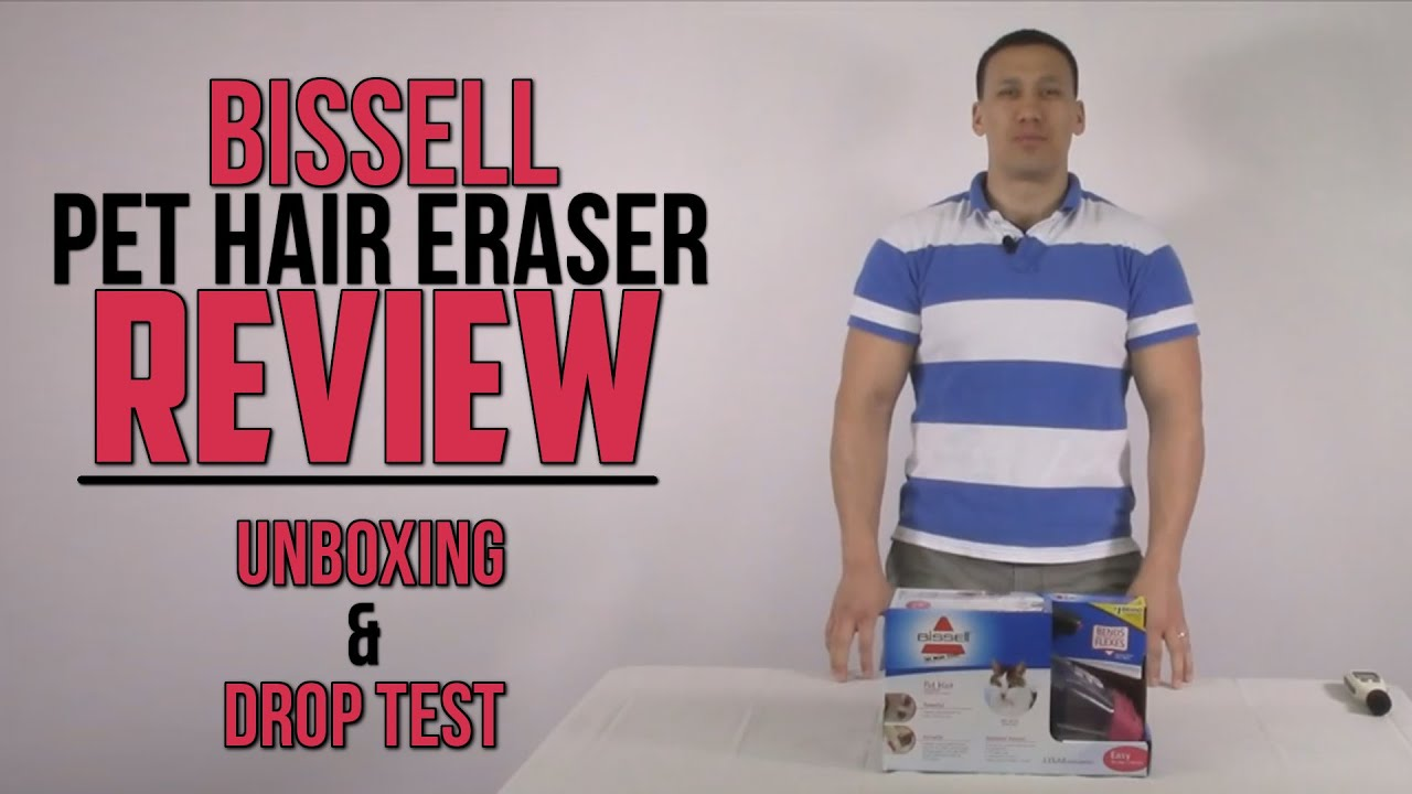 Bissell Pet Hair Eraser Hand Vac 33A1C Hand Held Vacuum Black