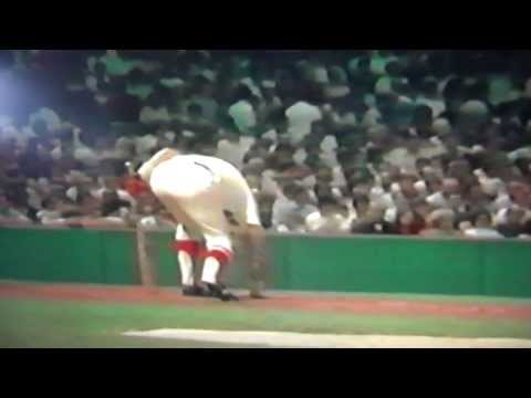 Carl Yastrzemski Hits 400th Home Run Fenway Park
