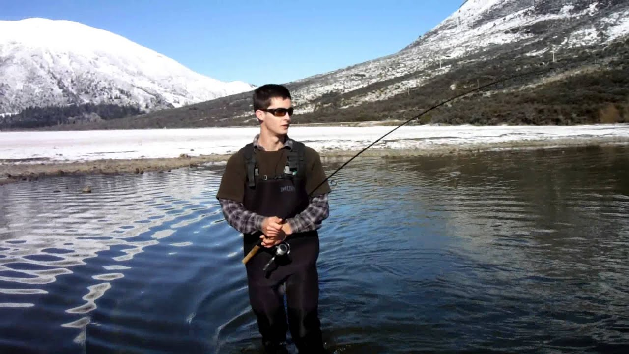 Lake pearson trout fishing youtube for Youtube trout fishing