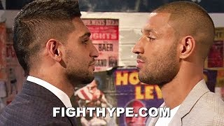 (WOW!) AMIR KHAN FINALLY AGREES TO KELL BROOK FIGHT IN EARLY 2019, BUT DEMANDS REHYDRATION CLAUSE