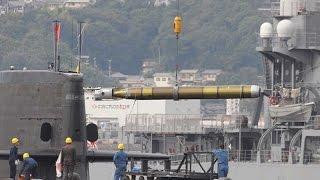 【海上自衛隊】世界最高の航空魚雷「そうりゅう級」 に積載されている89式魚雷  凄いぞ日本の力!