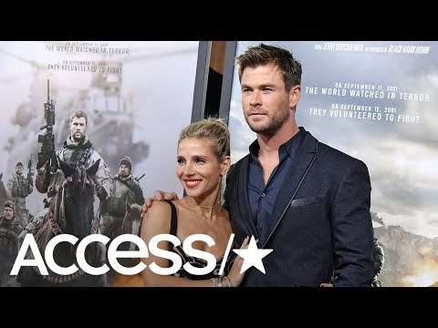 Elsa Pataky Steals The Spotlight From Husband Chris Hemsworth At '12 Strong' Premiere | Access