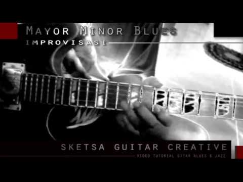 MAYOR MINOR BLUES IN A - IMPROVE