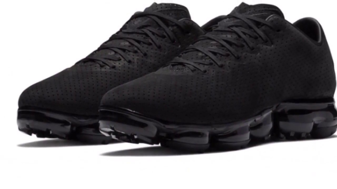 0a09eae73f0c70 NIKE AIR VAPORMAX LTR TRIPLE BLACK REVIEW AND RELEASE DETAILS - YouTube